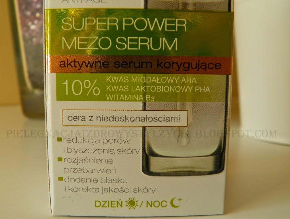 Korygujące serum Bielenda Mezo Serum opinie, działanie