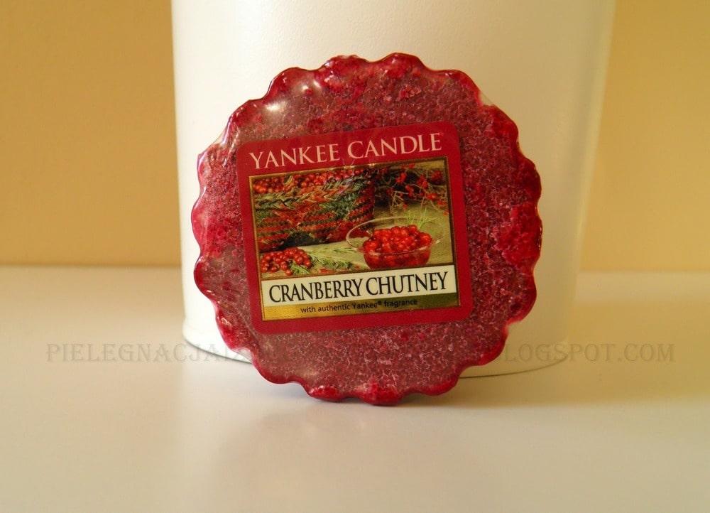 CRANBERRY CHUTNEY YANKEE CANDLE