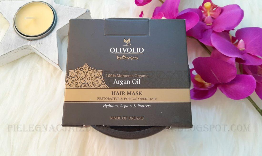 Maska do włosów Olivolio Argan Oil opinie, blog