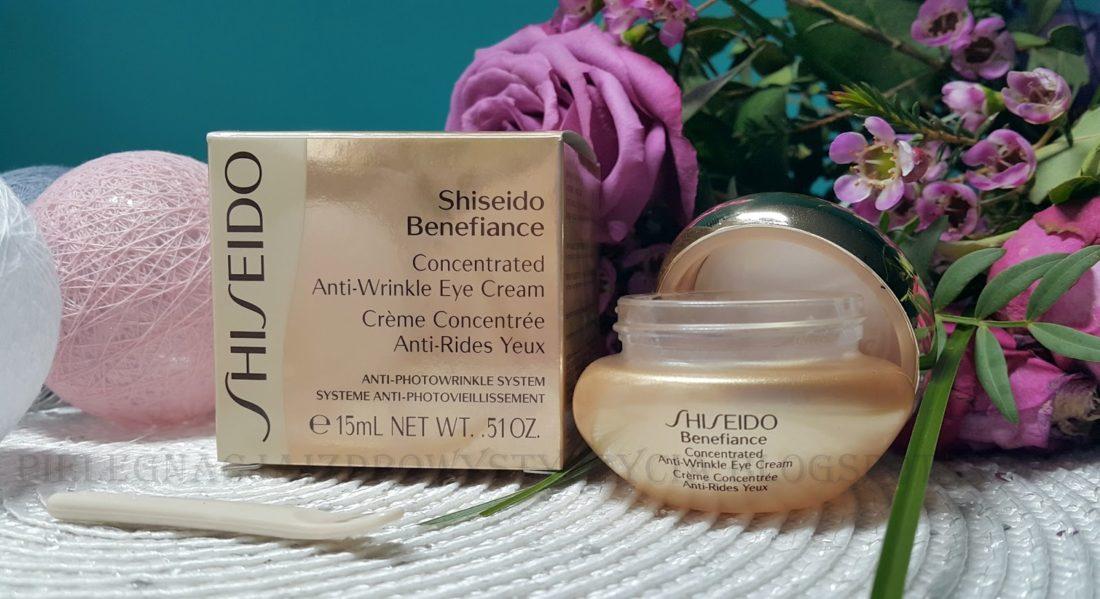 Krem pod oczy Shiseido Benefiance Concentrated Anti-Wrinkle Eye Cream. Recenzja, blog, opinie, skład.