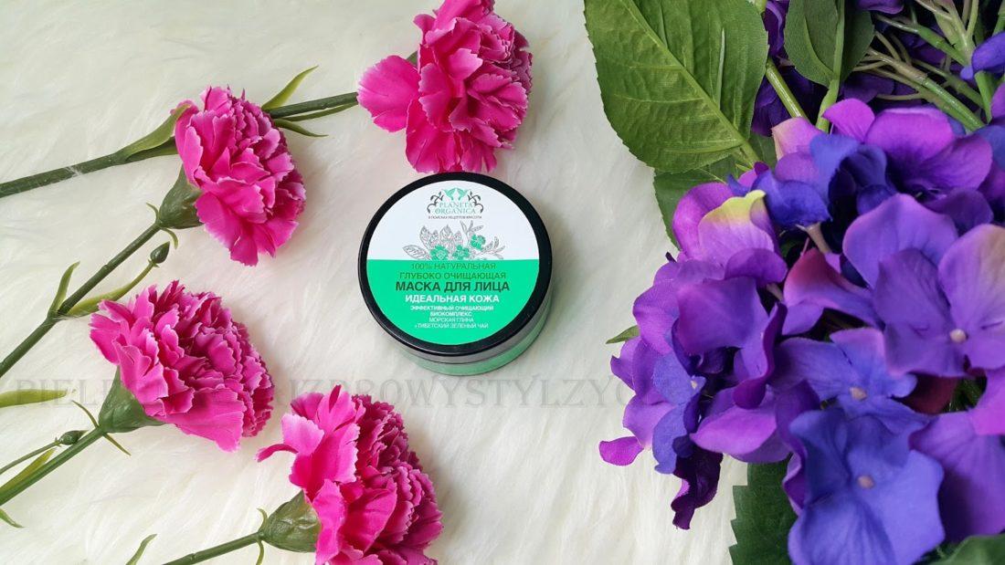 Ulubieńcy kosmetyczni marzec 2017: głęboko oczyszczająca maseczka do twarzy Planeta Organica