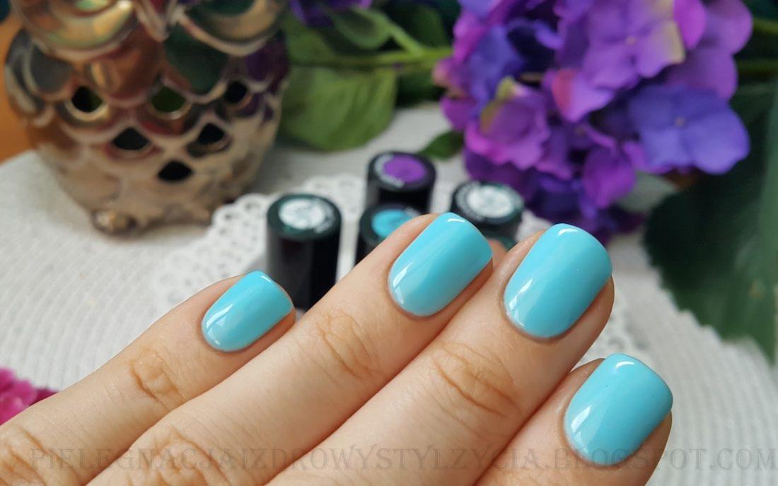 SEMILAC INTENSE BLUE 044 swatche, opinie, blog