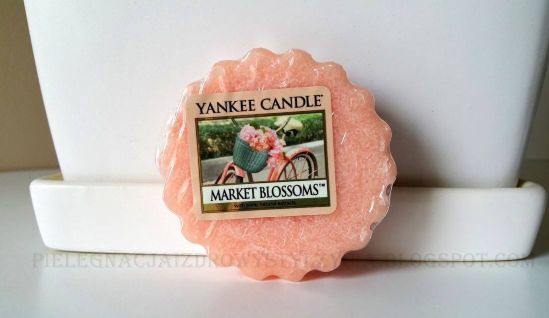 Wosk zapachowy Yankee Candle Market Blossoms. Blog, opinie.