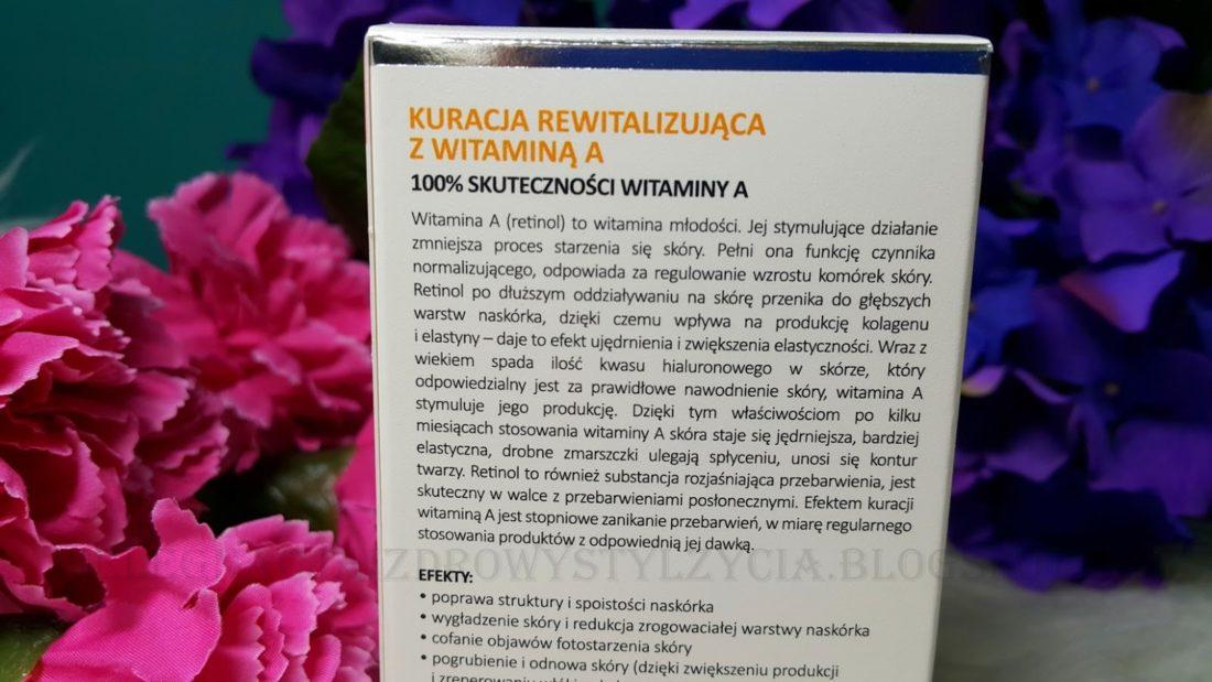 Kuracja rewitalizująca z witaminą A DermoFuture Precision. Serum do twarzy - recenzja, działanie, skład, opinie, blog.