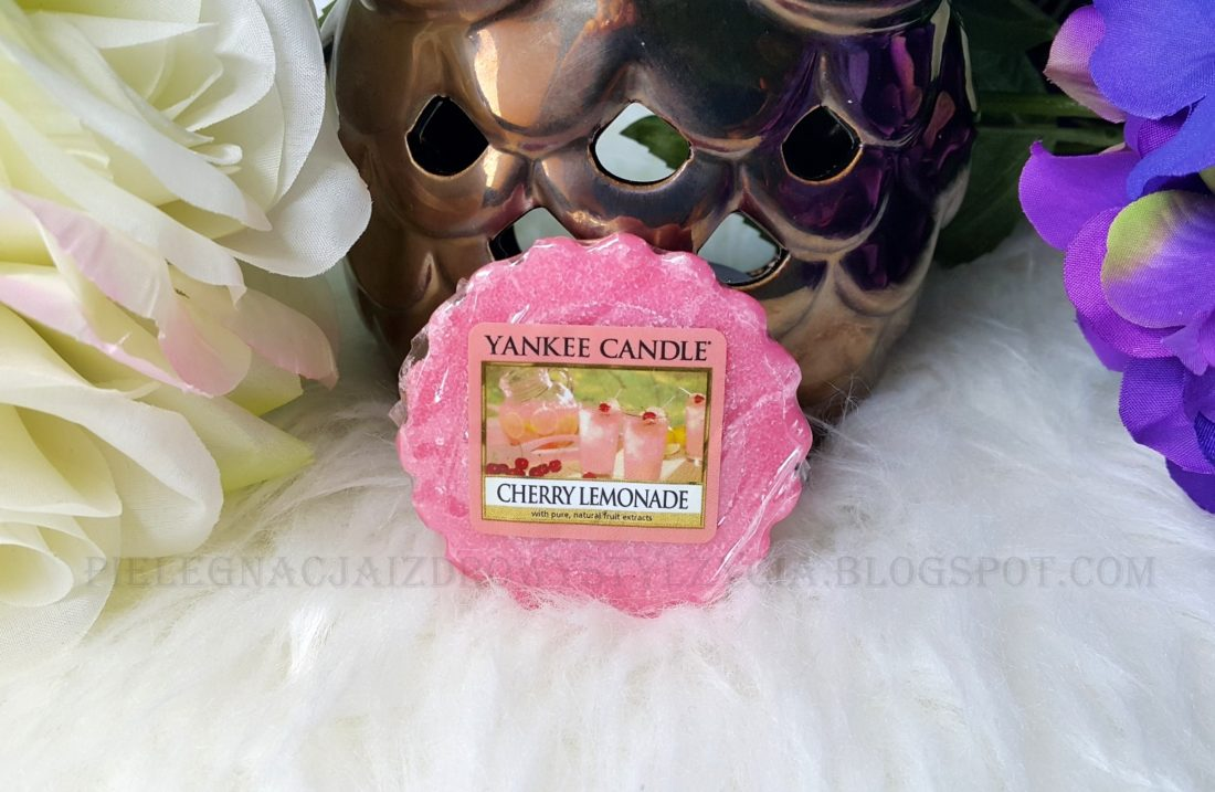 Wosk Cherry Lemonade Yankee Candle. Blog, opinie.