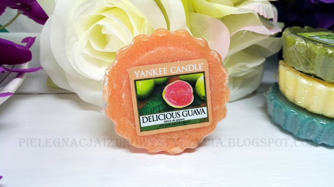 Wosk zapachowy Delicious Guava Yankee Candle. Blog, opinie.