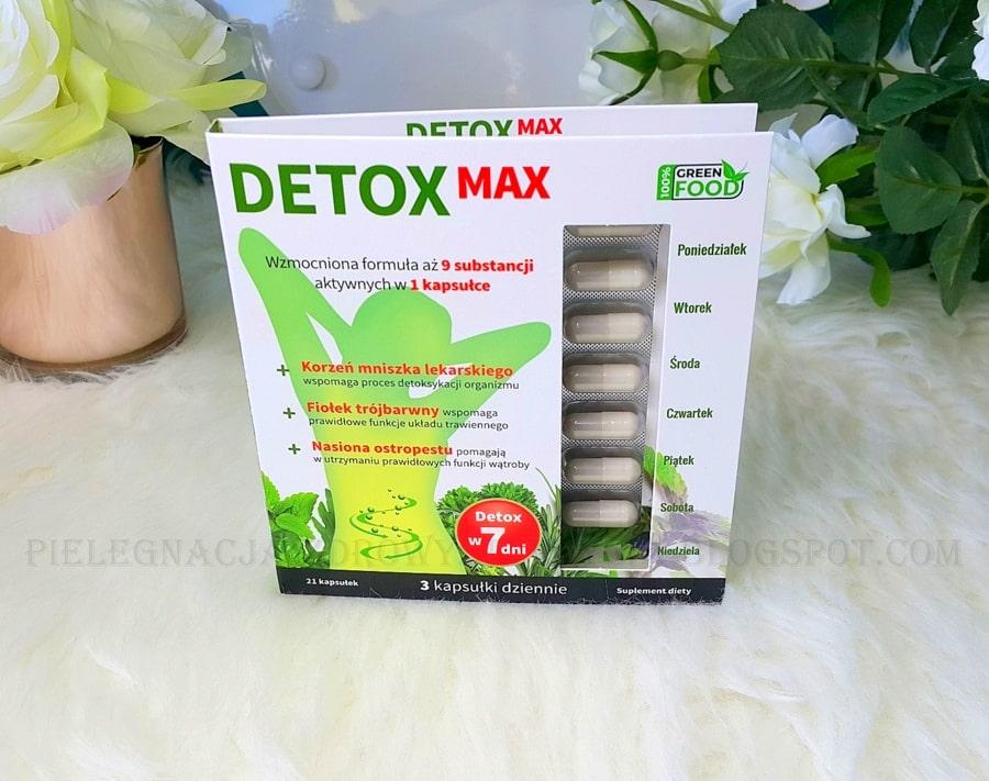 DETOX MAX NOBLE HEALTH - detox organizmu w 7dni