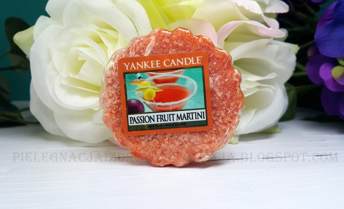 Wosk zapachowy Passion Fruit Martini Yankee Candle. Blog, opinie.