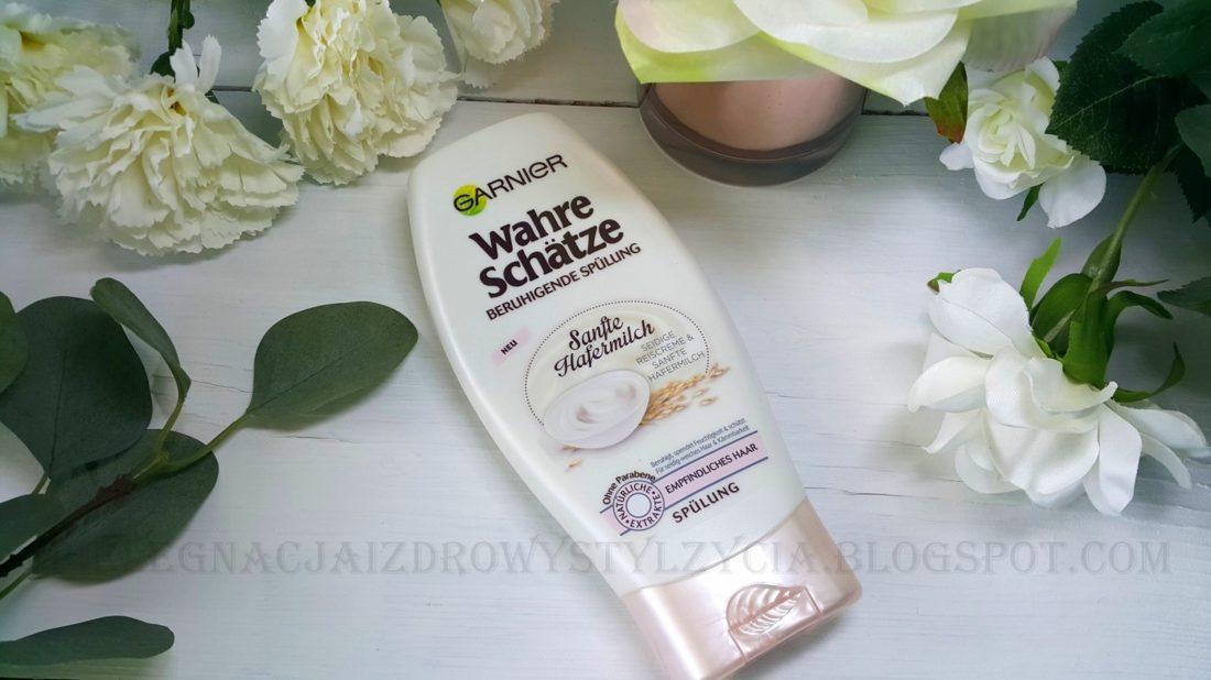 Odżywka do włosów Garnier mleczko owsiane