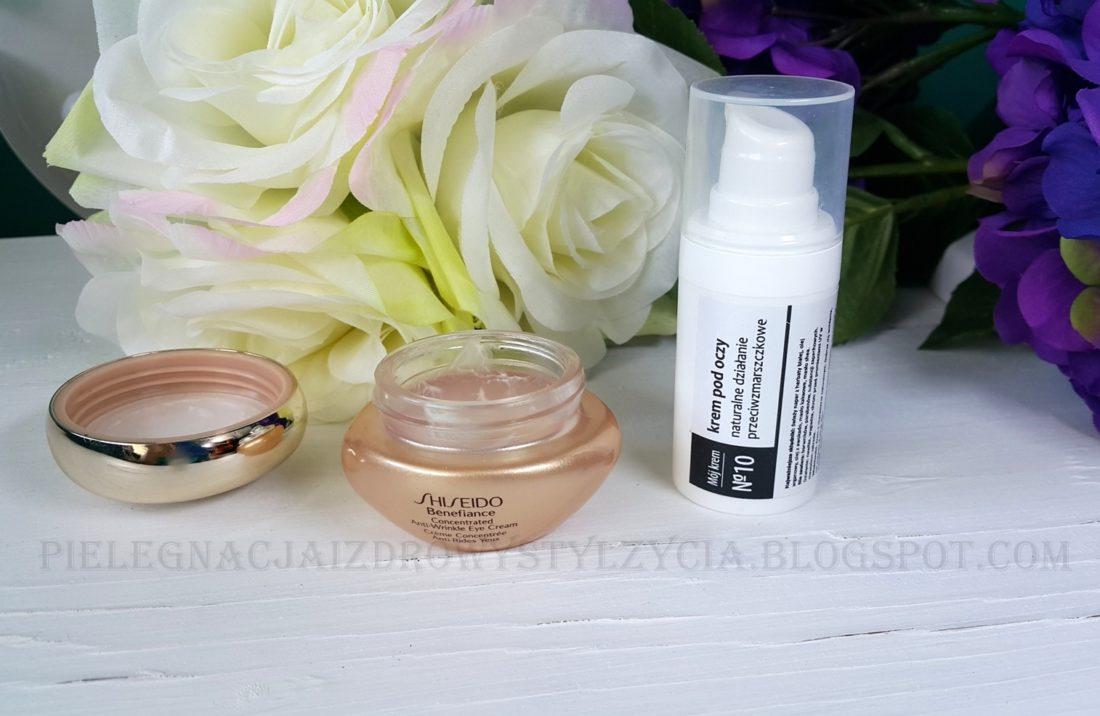 Krem pod oczy Shiseido Benefiance, Fitomed mój krem nr 10