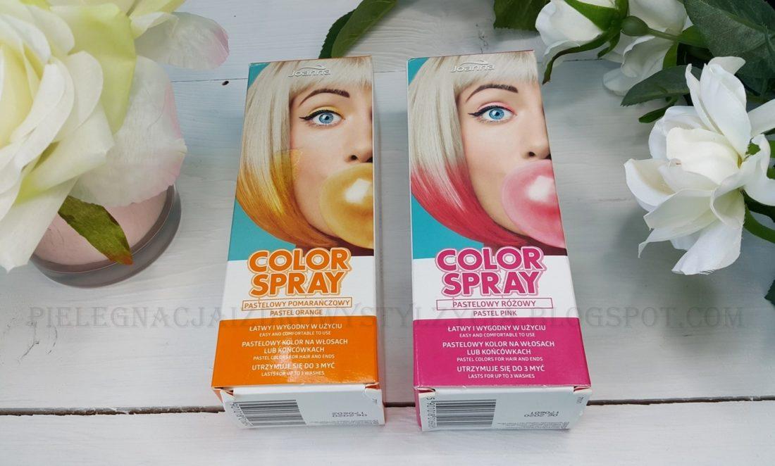 Jaonna Color Spray pastelowy pomarańczowy i różowy