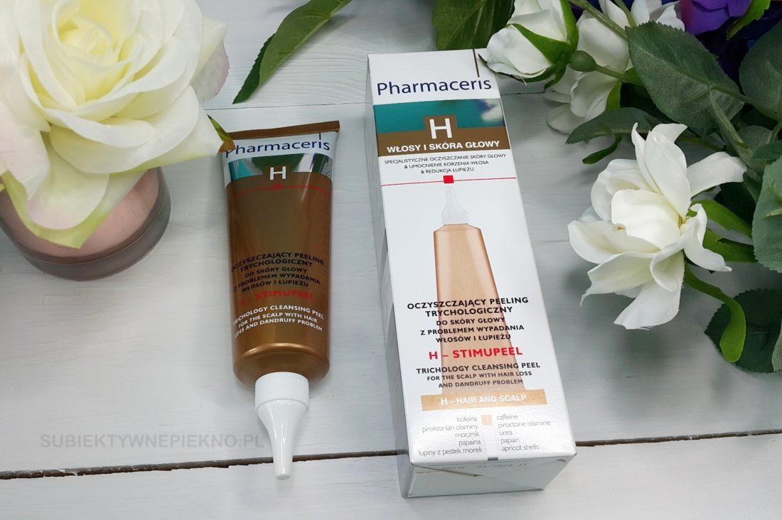 Trychologiczny peeling do skóry głowy Pharmaceris H. Blog, opinie.