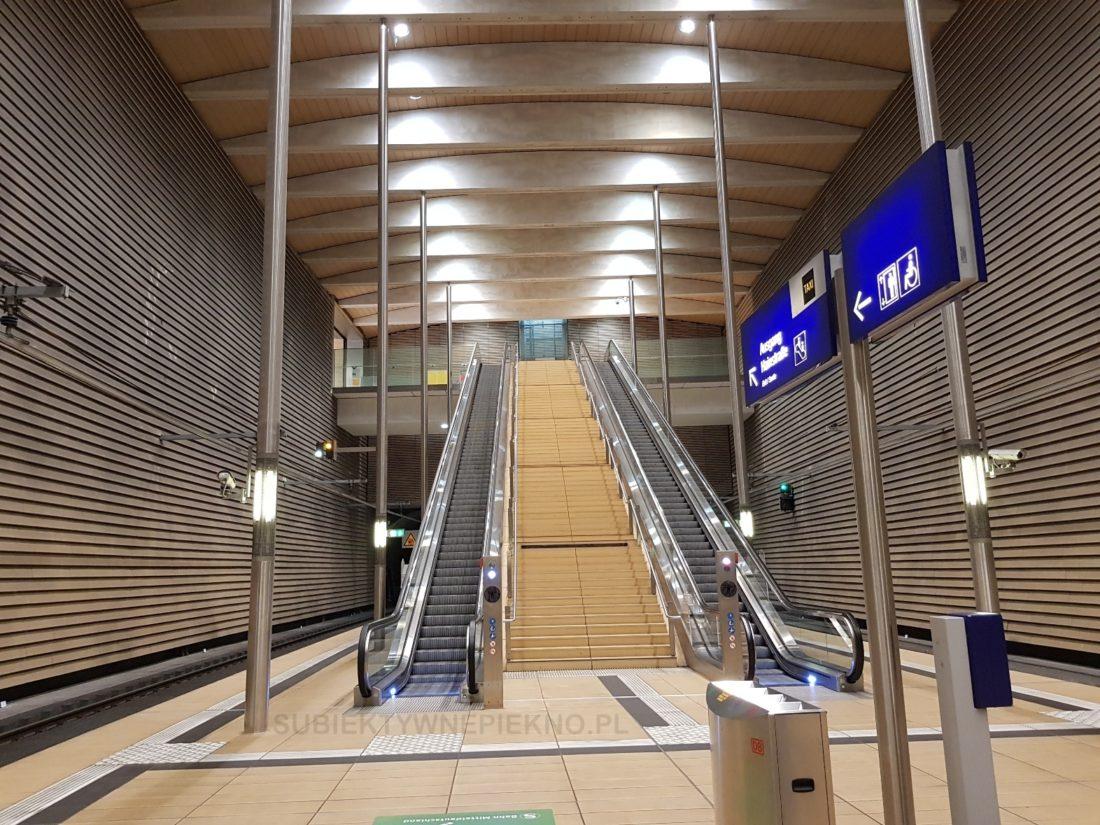 podziemna stacja kolejowa lipsk