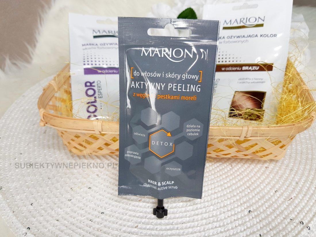 Marion peeling do skóry głowy blog, opinie