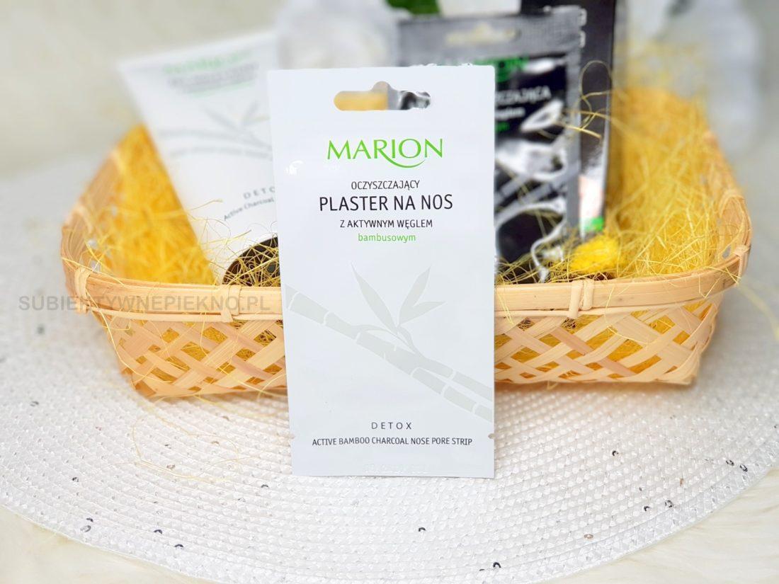 Oczyszczający plaster na nos Marion z aktywnym węglem i oczarem wirginijskim opinie, blog