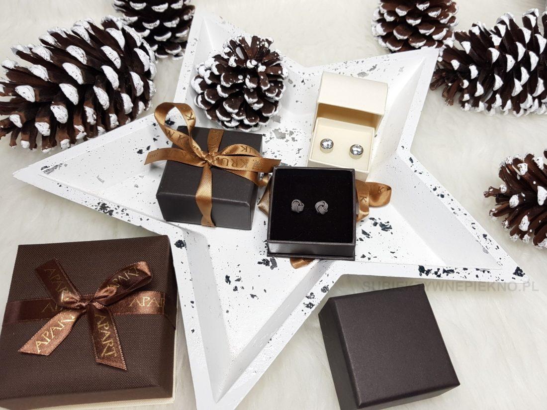 Pomysły na prezenty świąteczne do 100zł - srebrna biżuteria W.Kruk, Apart