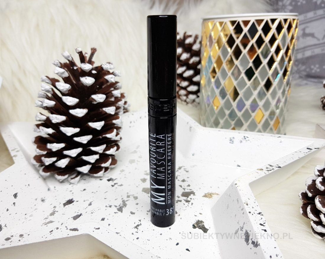 Tusz do rzęs Gosh My Favourite Mascara Black opinie