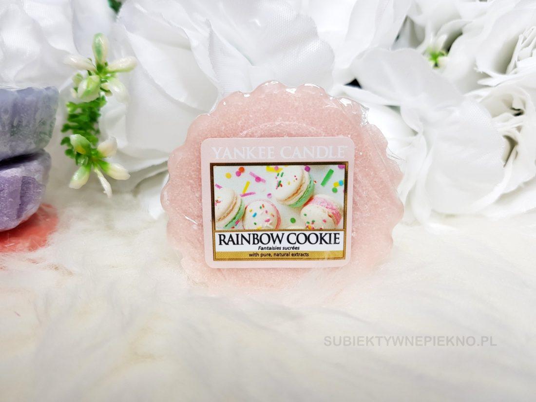Wosk zapachowy Rainbow Cookie Yankee Candle. Wiosenna kolekcja Q1 2018 Enjoy the Simple Things. Blog, opinie.