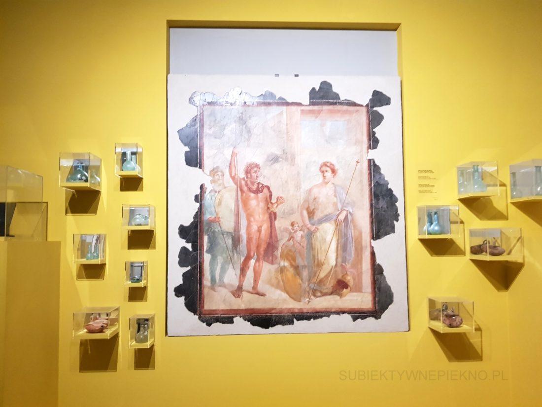 Pompeje koło Neapolu. Zwiedzanie ruin starożytnego miasta obraz i wykopaliska