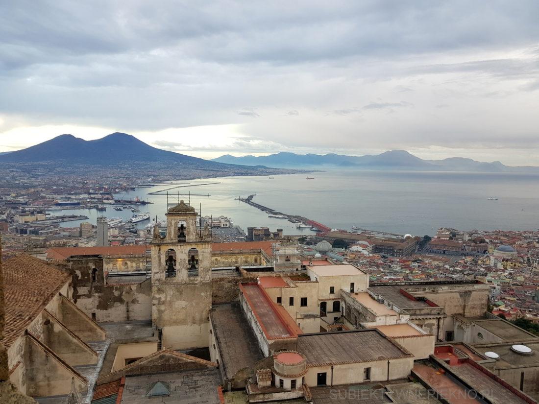 Widok na Neapol z Castel Sant'Elmo