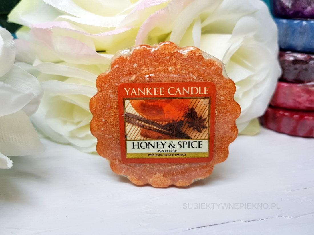 Wosk zapachowy Honey & Spice Yankee Candle - recenzja, blog, opinie