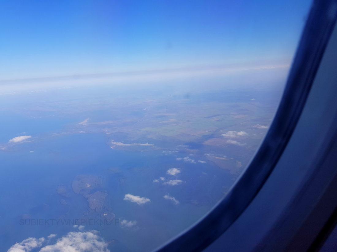 Kuba - widok na wyspę z samolotu