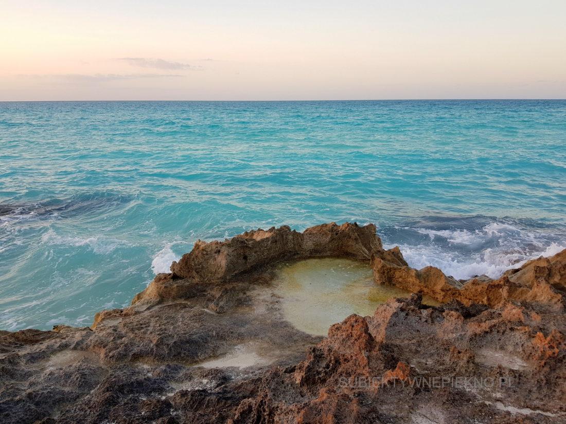 Kuba Cayo Santa Maria - piękny widok na ocean