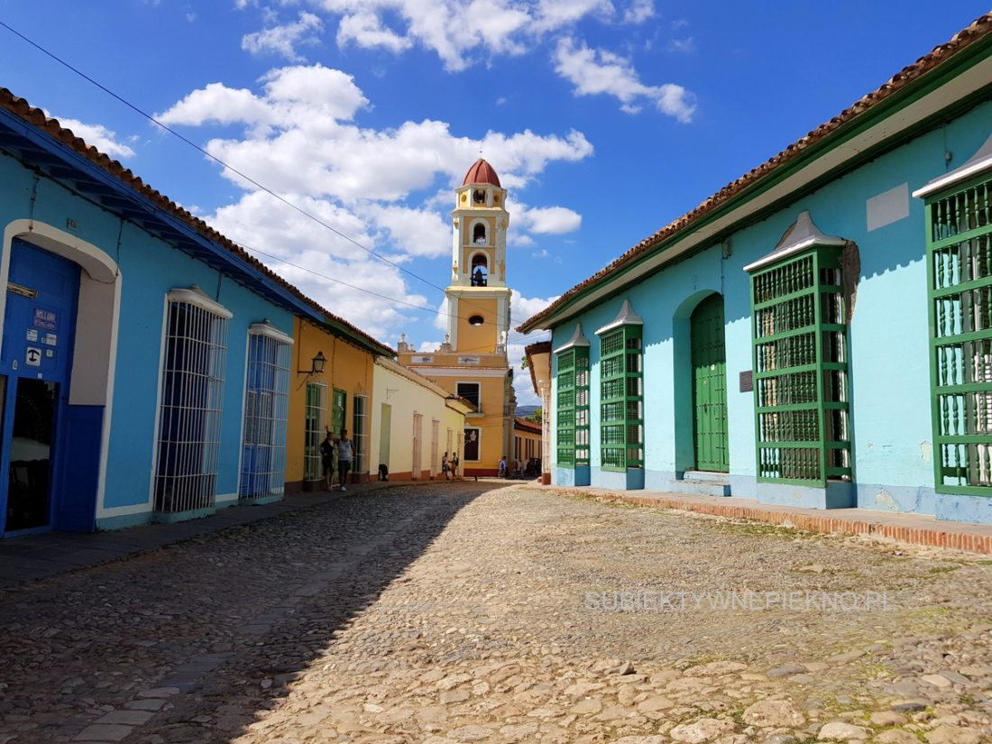 Kuba Trinidad - kolorowe budynki
