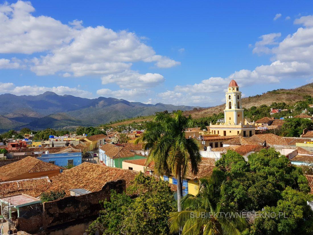 Kuba Trinidad - piękny widok z wieży widokowej