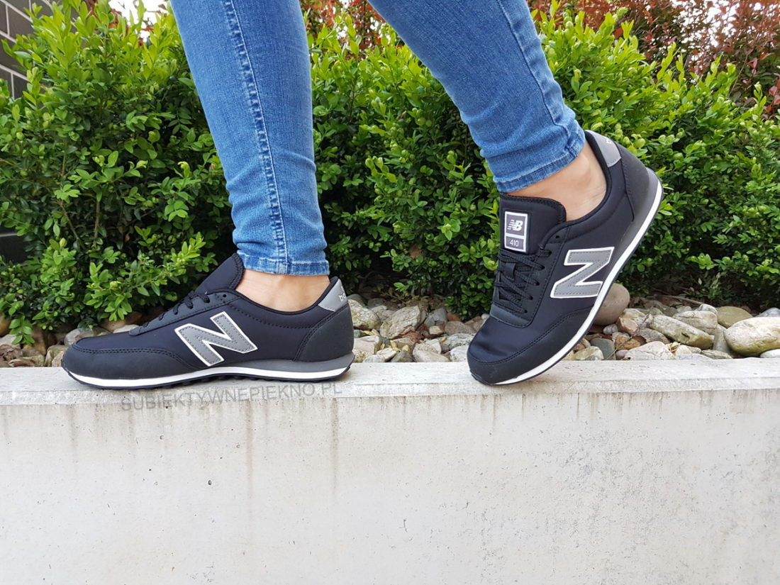 New Balance 410 czarne real foto