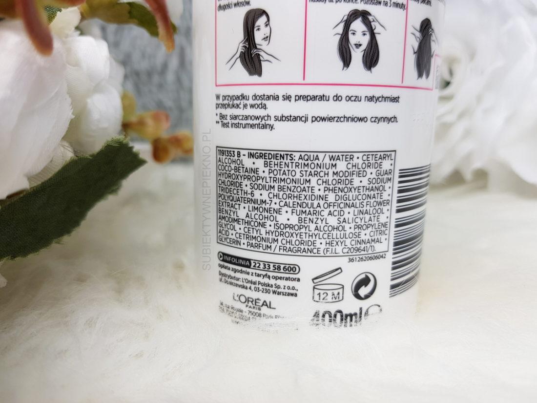 Krem myjący 3w1 LOW SHAMPOO ELSEVE TOTAL REPAIR 5 LOreal - skład, opinie