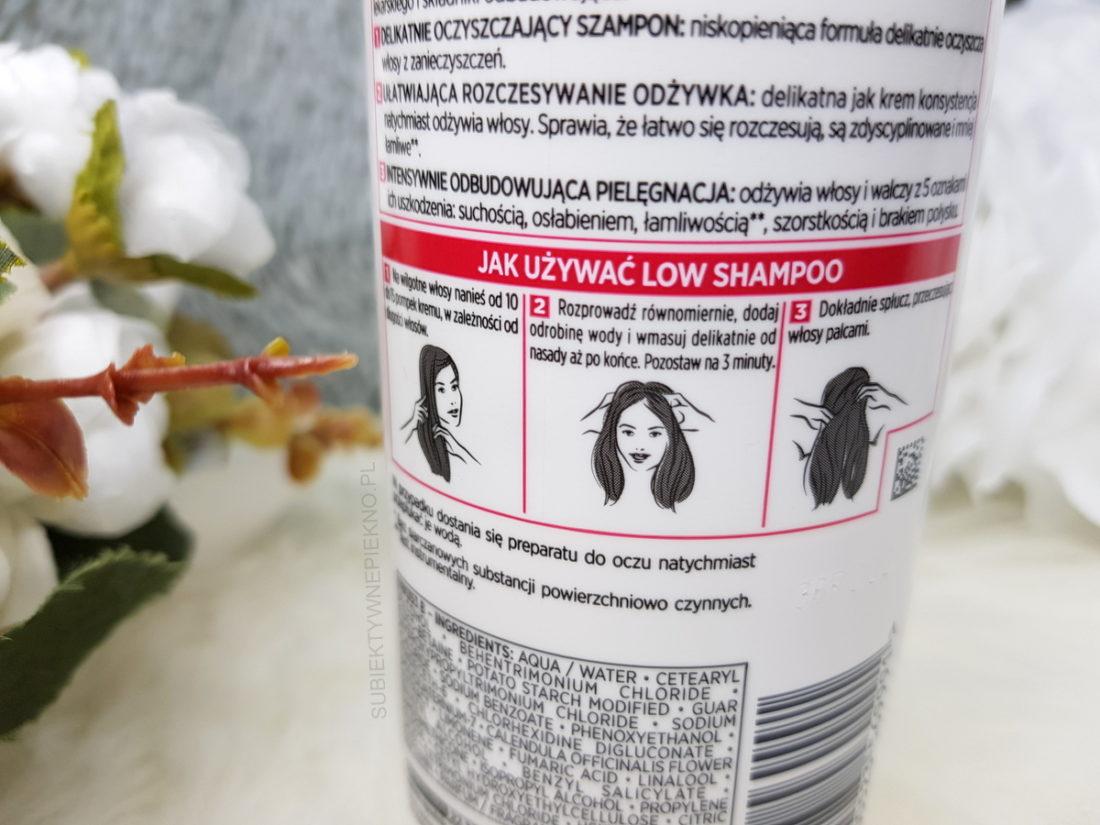 Krem myjący 3w1 LOW SHAMPOO ELSEVE TOTAL REPAIR 5 opinie