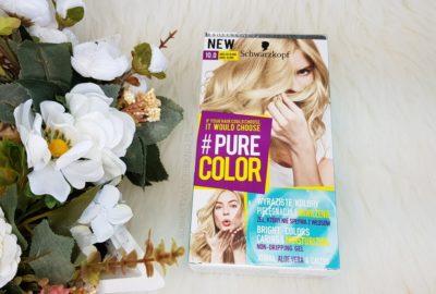 Schwarzkopf Pure Color 10.0 Anielski Blond | Żelowa farba do włosów