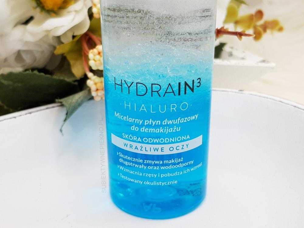 Dermedic Hydrain3 Hialuro - micelarny płyn dwufazowy do wrażliwych oczu - opinie