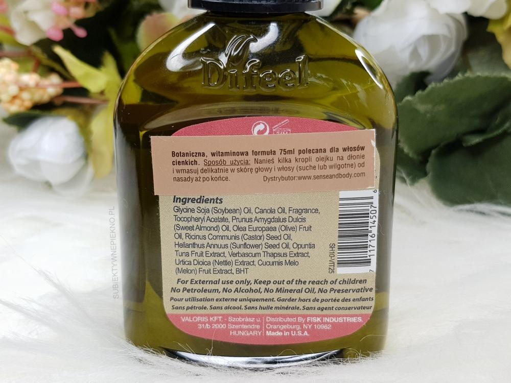 Olejek Di Feel Vitamin E Oil - skład, opinie, działanie, zapach