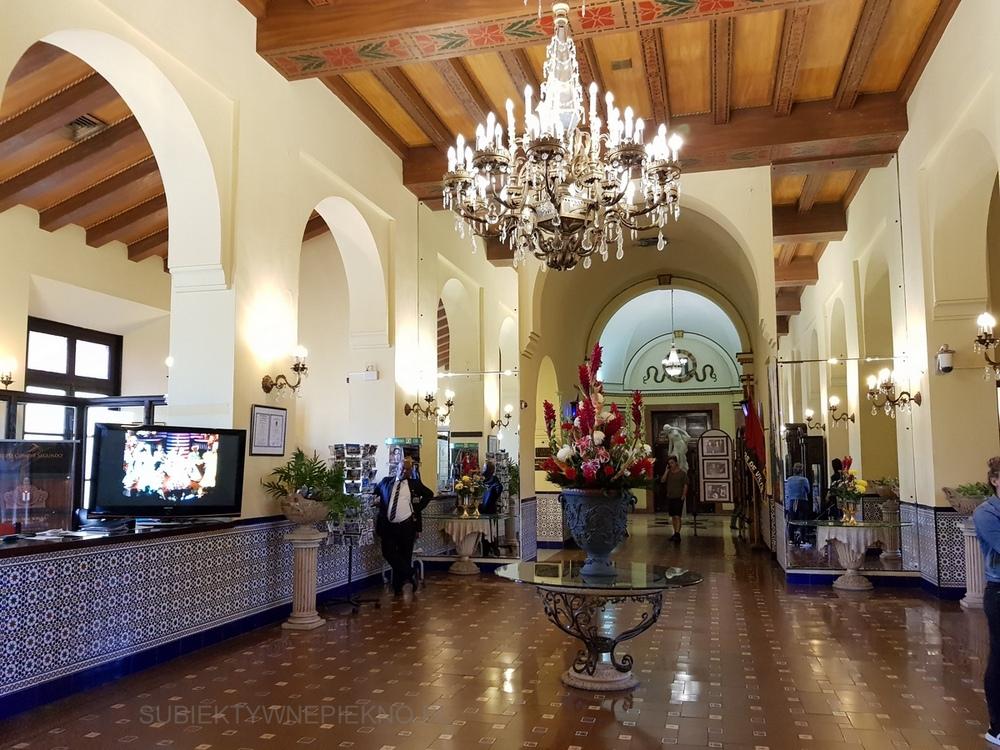 Hawana co warto zwiedzić? - Wnętrze Hotel Nacional