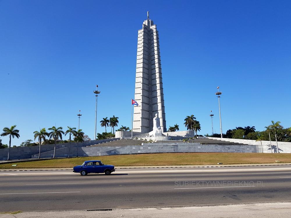 Kuba Hawana co warto zobaczyć? Pomnik na Placu Rewolucji