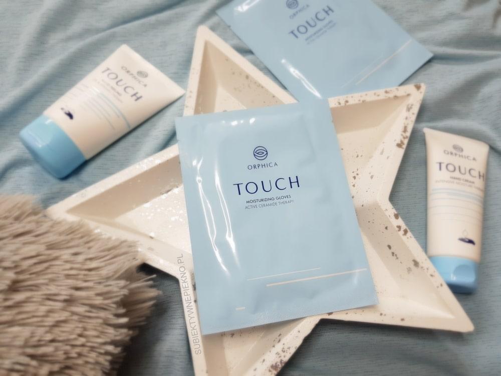 Pielęgnacja dłoni z ORPHICA TOUCH - rękawiczki nawilżające, peeling i krem do rąk