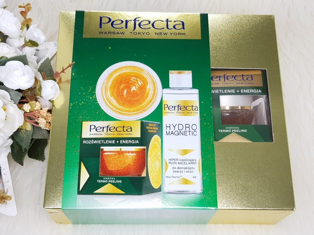 Zestaw Perfecta - peeling termoaktywny i płyn micelarny