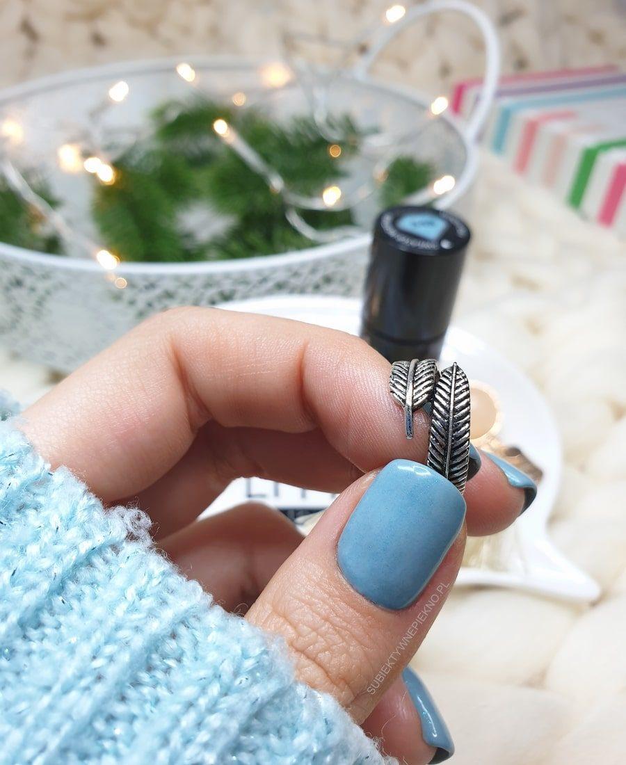 WINDY DAY SEMILAC swatche na paznokciach, opinie, blog
