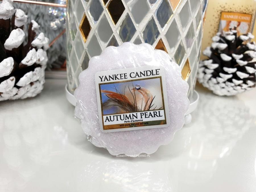 Autumn Pearl Yankee Candle - opinie i recenzja