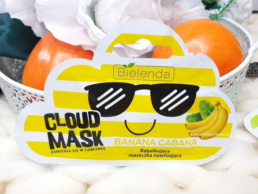 Bielenda Cloud Mask Banana Cabana opinie i skład - maseczka bąbelkująca, nawilżająca