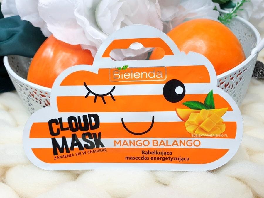 Bielenda Cloud Mask Mango Balango opinie i skład - maseczka bąbelkująca, energetyzująca