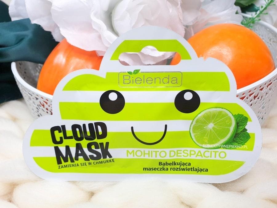 Bielenda Cloud Mask Mohito Despacito opinie i skład - maseczka bąbelkująca, rozświetlająca