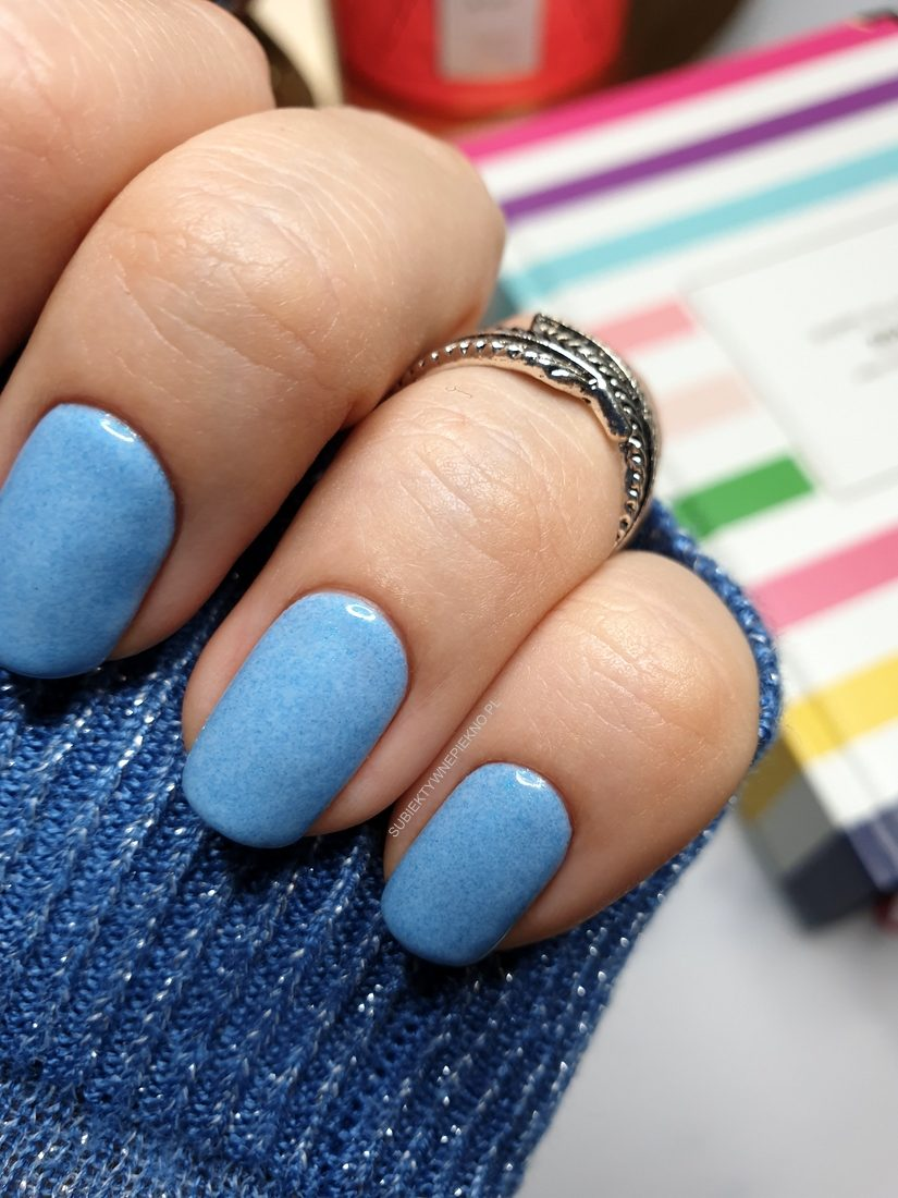 SEMILAC COLD AS ICE opinie, blog, swatche, swatch