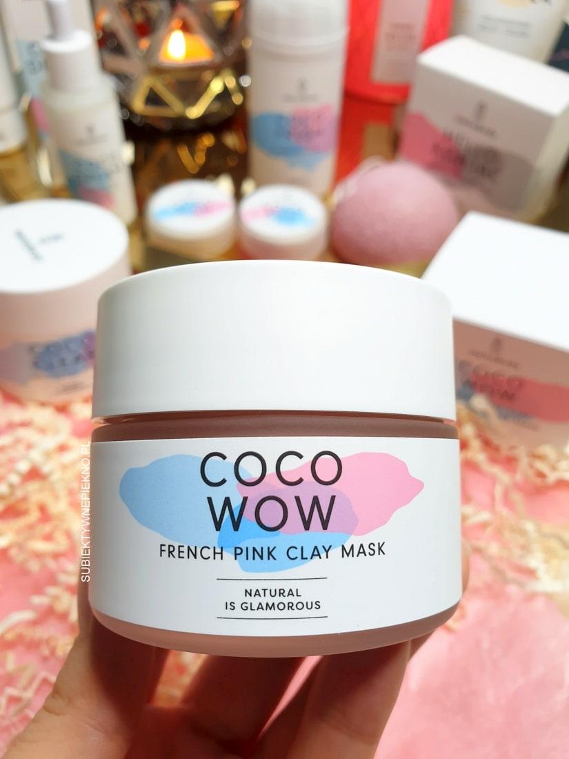 Coco Wow Hello Body opinie - różowa maseczka z ekstraktem z magnolii