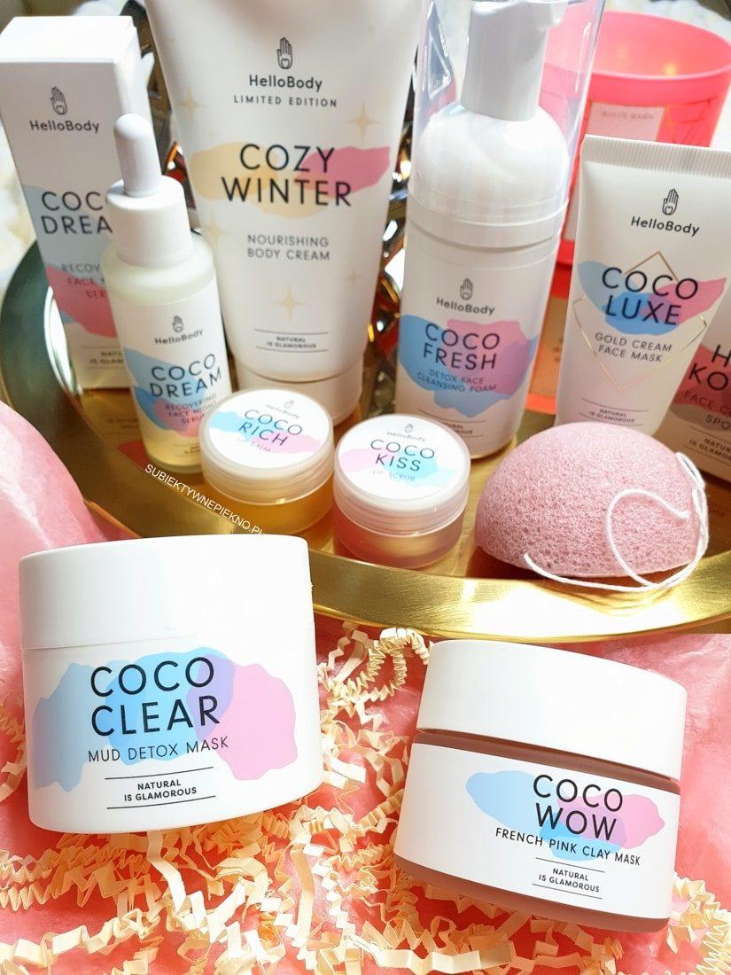 Kosmetyki Hello Body - Coco Clear, Coco Wow, Coco Fresh, Coco Rich, Coco Dream, Coco Kiss