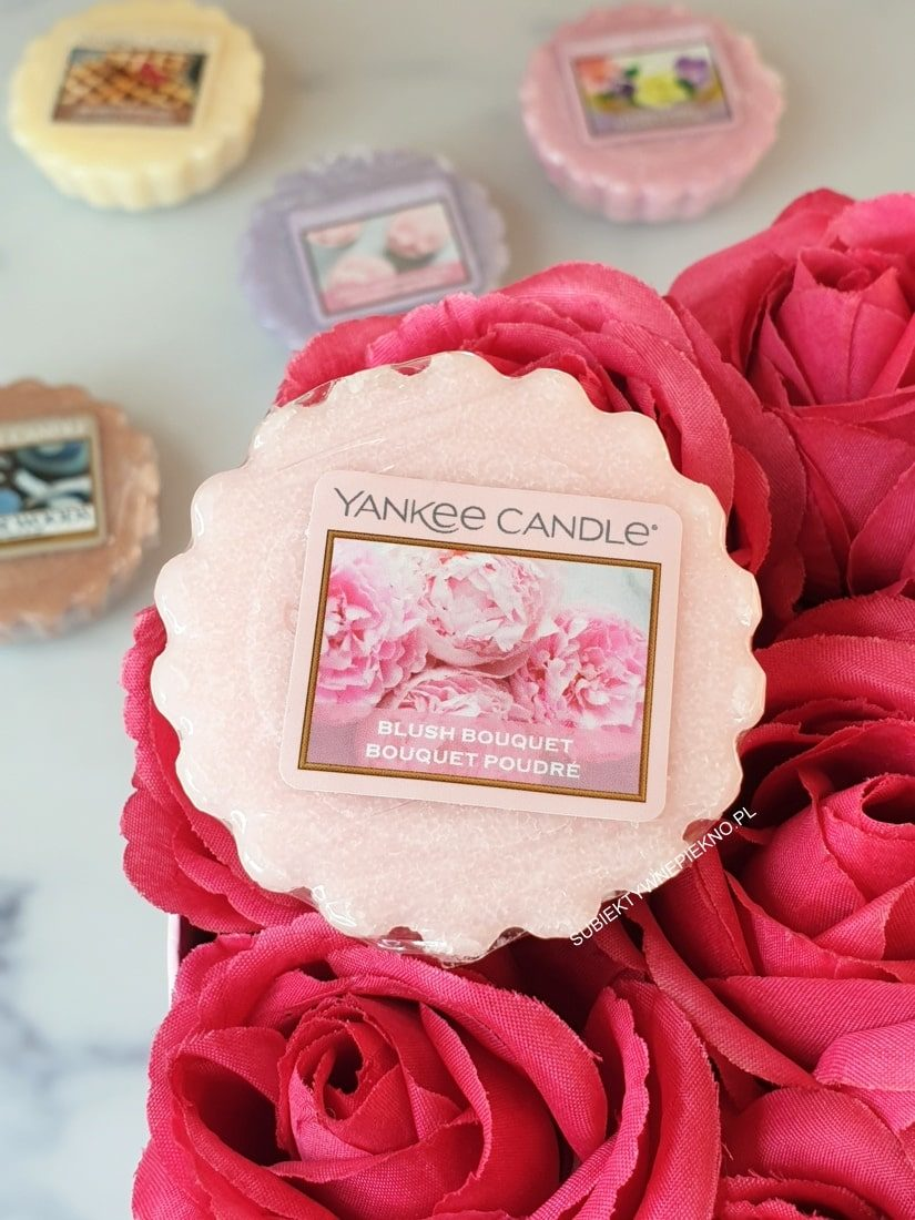 BLUSH BOUQUET Yankee Candle opinie, blog