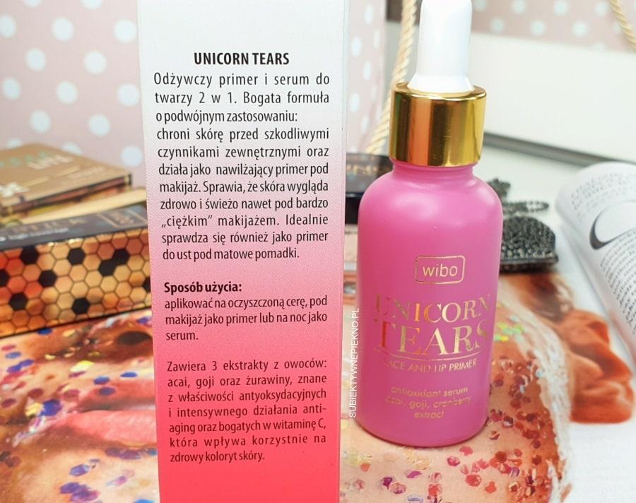 Wibo Unicorn Tears opinie - serum i baza pod makijaż skład, opinie, blog