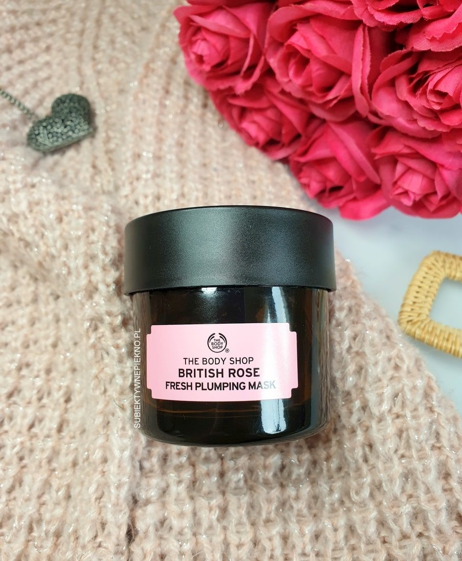 The Body Shop maska różana British Rose Fresh Plumping Mask